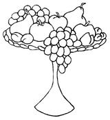 Imprimer le coloriage : Fruits numéro 490041