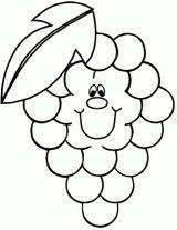 Imprimer le coloriage : Fruits, numéro 5f2ade42