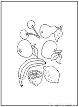 Imprimer le coloriage : Fruits, numéro 602017