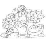 Imprimer le coloriage : Fruits, numéro 608794