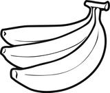 Imprimer le coloriage : Banane numéro 25924