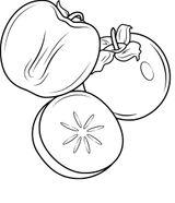 Imprimer le coloriage : Prune, numéro c2d589b0