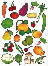 Imprimer le dessin en couleurs : Légumes, numéro 13525