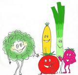 Imprimer le dessin en couleurs : Légumes, numéro 13532