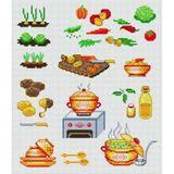 Imprimer le dessin en couleurs : Légumes, numéro 13539