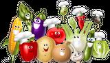 Imprimer le dessin en couleurs : Légumes, numéro 158267