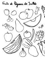Imprimer le coloriage : Légumes, numéro 15894