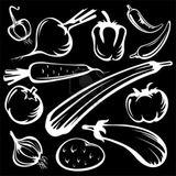 Imprimer le coloriage : Légumes, numéro 170901