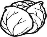Imprimer le coloriage : Légumes, numéro 207550