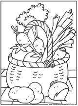 Imprimer le coloriage : Légumes, numéro 242446