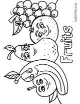 Imprimer le coloriage : Légumes, numéro 27310