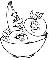 Imprimer le coloriage : Légumes, numéro 27749