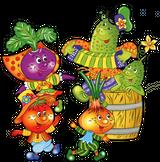 Imprimer le dessin en couleurs : Légumes, numéro 301063