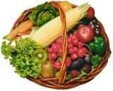 Imprimer le dessin en couleurs : Légumes, numéro 692804