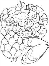Imprimer le coloriage : Légumes, numéro 760128