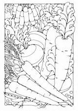 Imprimer le coloriage : Légumes, numéro 8200
