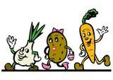 Imprimer le dessin en couleurs : Légumes, numéro 9884