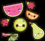 dessins en couleurs à imprimer nature légumes pastèque page 1