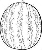 Imprimer le coloriage : Pastèque, numéro da78e6b2
