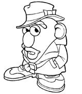 Imprimer le coloriage : Pomme de terre, numéro 56500