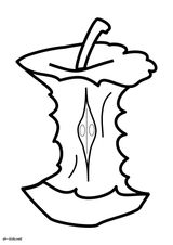 Imprimer le coloriage : Pomme de terre, numéro 985abafb