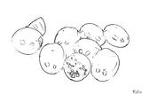 Imprimer le coloriage : Tomate, numéro 23987db3
