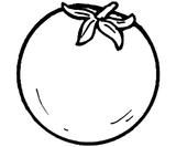 Imprimer le coloriage : Tomate, numéro 26101