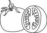 Imprimer le coloriage : Tomate, numéro 326cb32f