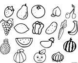 Imprimer le coloriage : Légumes, numéro cb022360