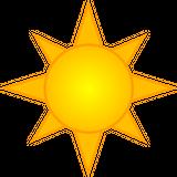 Imprimer le dessin en couleurs : Soleil, numéro 157185