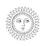 Imprimer le coloriage : Soleil, numéro 17037