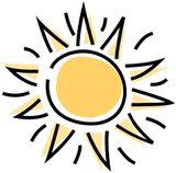 Imprimer le dessin en couleurs : Soleil, numéro 19446