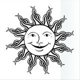 Imprimer le coloriage : Soleil, numéro 26761