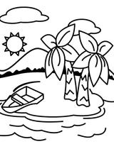 Imprimer le coloriage : Soleil, numéro 3548