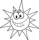 Imprimer le coloriage : Soleil, numéro a0988b83