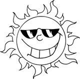 Imprimer le coloriage : Soleil, numéro e85bb0c2