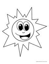 Imprimer le coloriage : Soleil, numéro f59defcd
