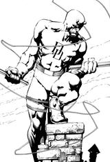 Imprimer le coloriage : Personnages célèbres, numéro 8909