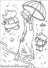 Imprimer le coloriage : Babar, numéro 16825