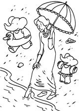 Imprimer le coloriage : Babar, numéro 6f3bd7a7