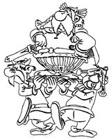 Imprimer le coloriage : Astérix, numéro 13309