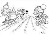 Imprimer le coloriage : Boule et Bill, numéro 220014