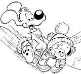 Imprimer le coloriage : Boule et Bill, numéro 426797
