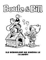 Imprimer le coloriage : Boule et Bill, numéro 447bfd66