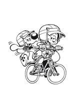 Imprimer le coloriage : Boule et Bill, numéro 48076