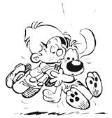 Imprimer le coloriage : Boule et Bill, numéro 48078