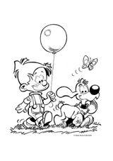 Imprimer le coloriage : Boule et Bill, numéro 51703
