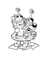 Imprimer le coloriage : Boule et Bill, numéro 57276