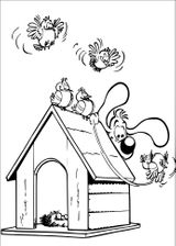 Imprimer le coloriage : Boule et Bill, numéro 57dff773