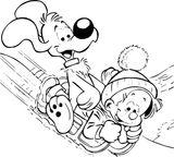 Imprimer le coloriage : Boule et Bill, numéro 5bf68470